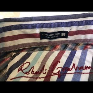 Robert Graham Mens Button Down Shirt